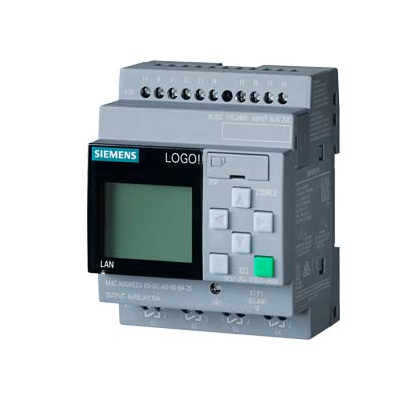 LOGO 8, 230 REC, BASIC MODULE WITH DISPLAY