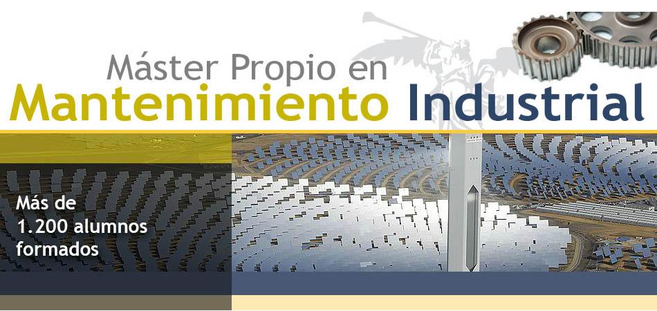 Gómez Maqueda colabora con el Máster en Mantenimiento Industrial