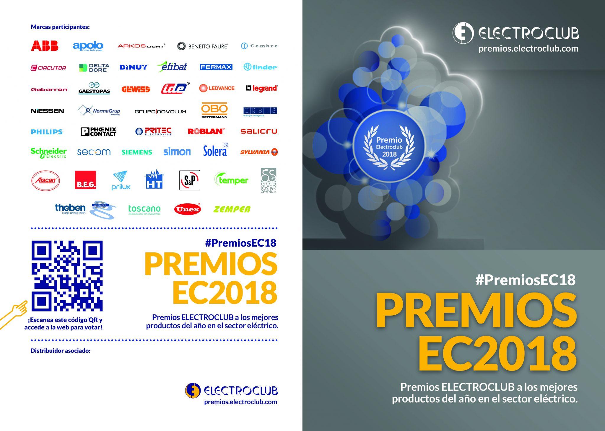 La 3ª edición de los Premios Electroclub ya ha llegado