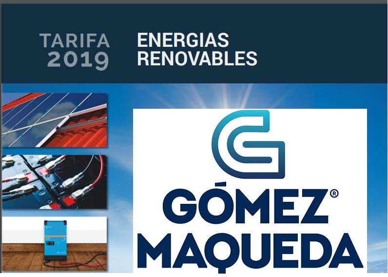 Catálogo de Energías Renovables 2019