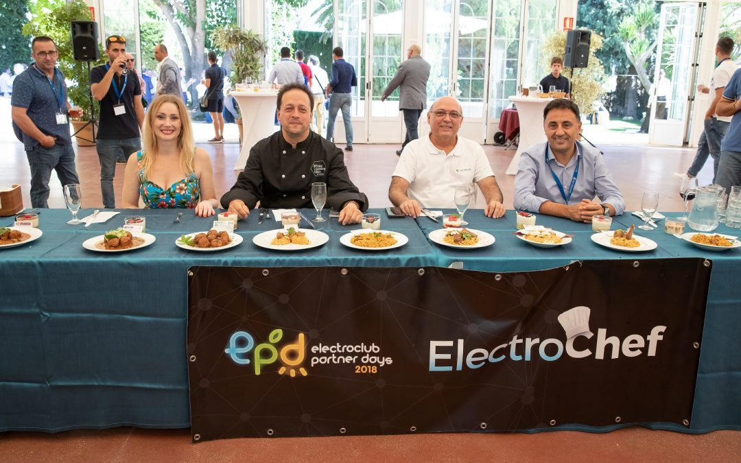 Alesur estuvo presente en el Electroclub Partner Day