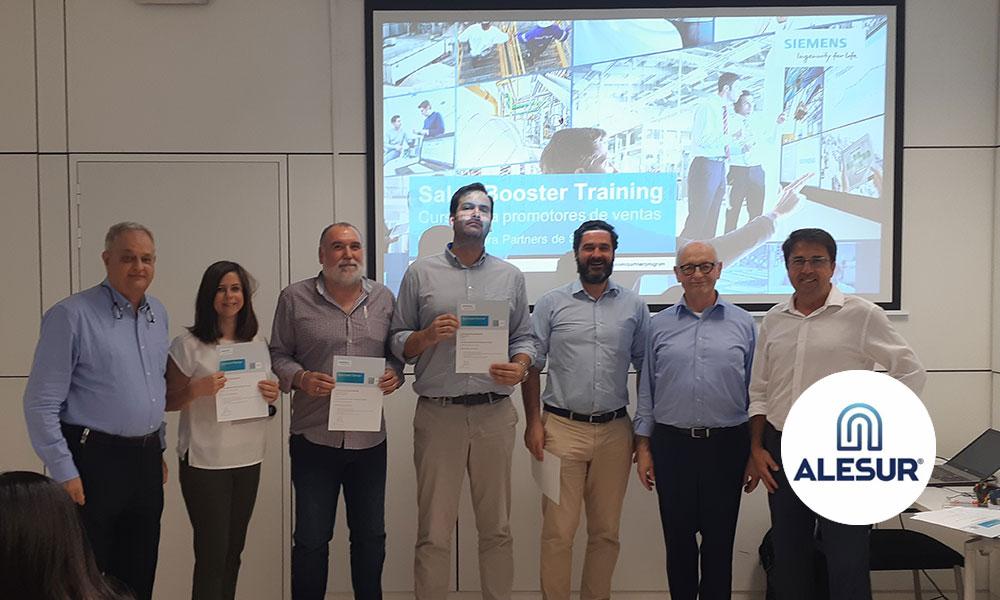 Siemens acredita a Alesur como colaborador «Approved Partners»