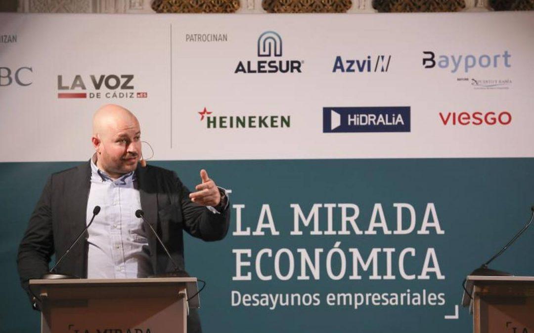 Alesur, patrocinador de las sesiones del foro empresarial «La Mirada Económica»