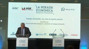 ALESUR patrocina el coloquio de las Bodegas Barbadillo en La Mirada Económica