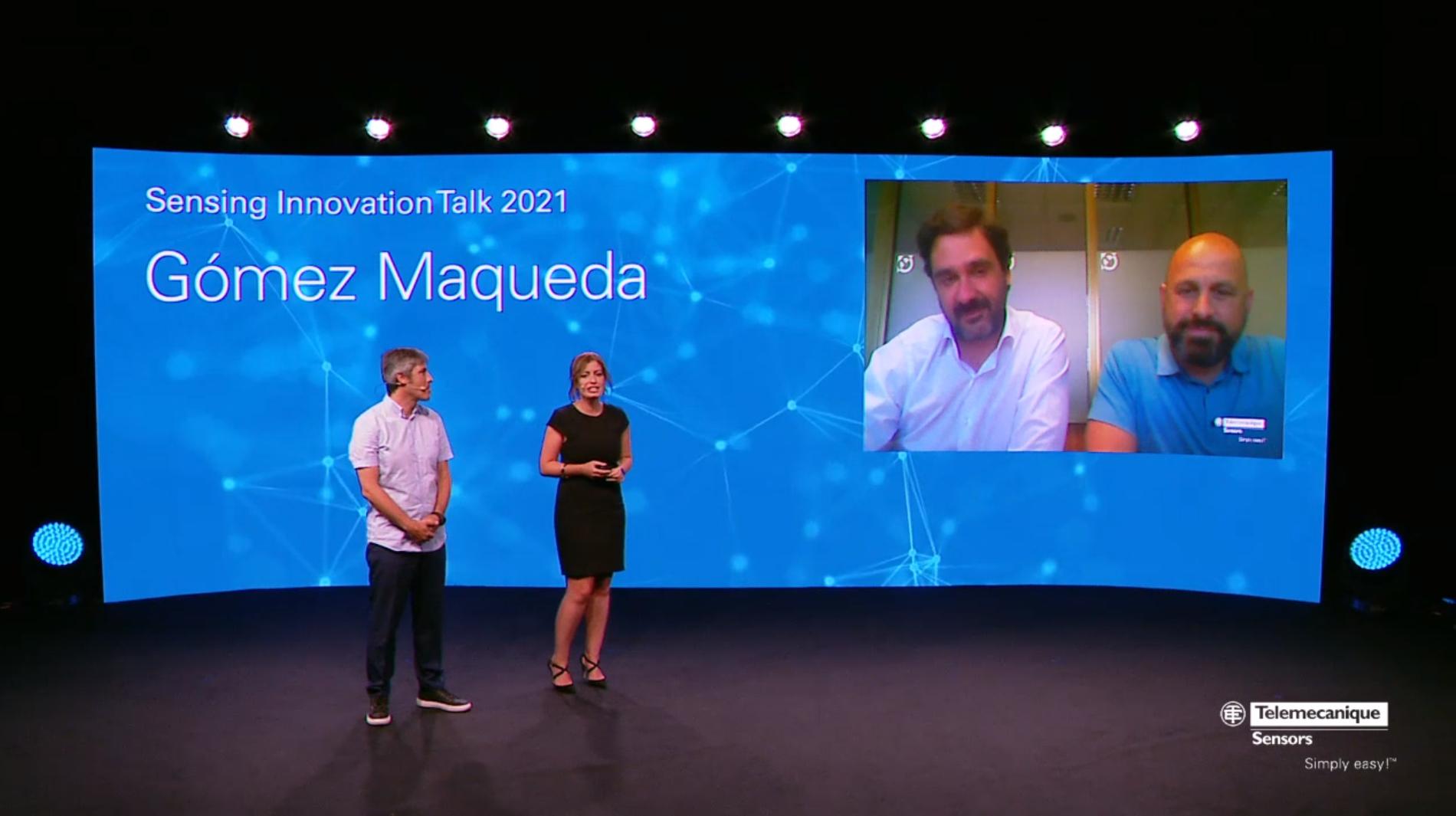 Gómez Maqueda gana el premio Sensor Partner Telemecanique 2020
